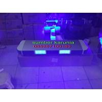 lampu rotator polisi tbd 5000 biru-merah 1