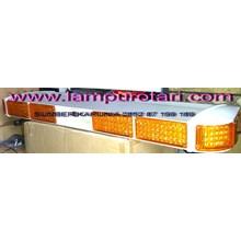 lampu rotator polisi tbd 5000 kuning-kuning