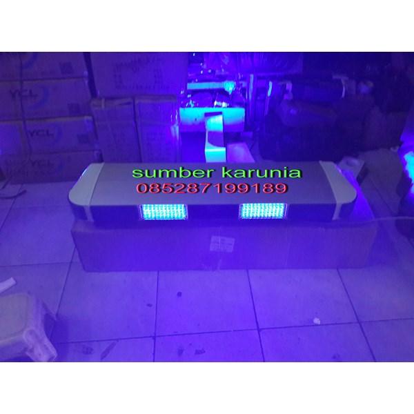 Lampu Strobo Polisi Tbd 5000 BIRU - BIRU