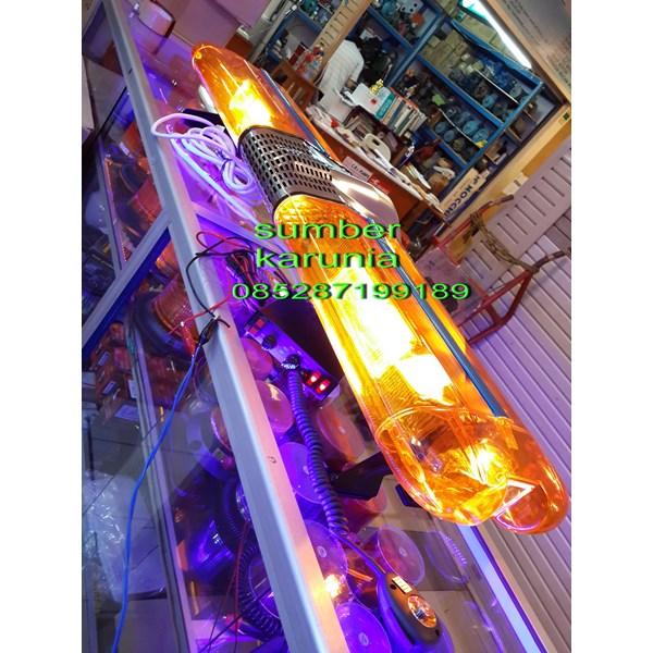 lampu strobo solar panel merah