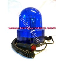 Lampu Rotari Led 4 Inchi Biru