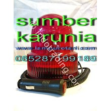 4Inch Lampu Rotary Led Red