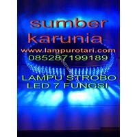 Dari Lampu Rotari 4 Inch Led Biru 5