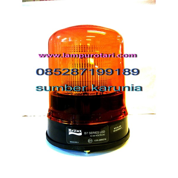 Lampu Rotary BRITAX 12 Volt - 24 Volt Ukuran 6 INCHI
