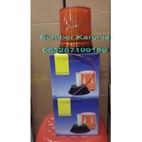 Distributor Lampu Tenaga Surya Solar Cell Strobo 6 Inch 3