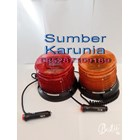 Lampu Flash Led Biru Magnet 5