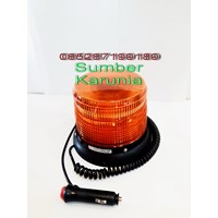 Lampu Flash Led 16H Amber 12V - 24V