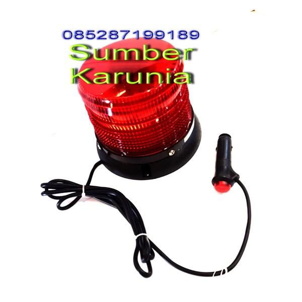 Lampu Flash Led 16H Amber 12V - 24V