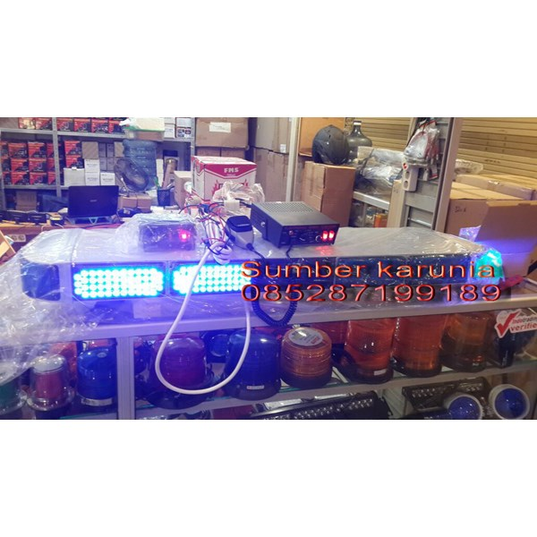 Lampu Strobo LED Biru 12V