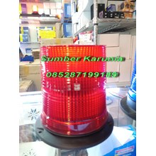 Lampu Strobo Beacon WL 27 Led 6 Inch