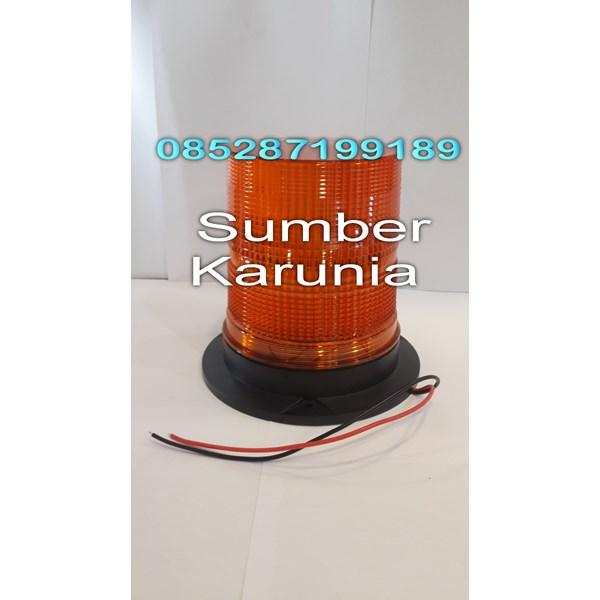 Lampu Strobo LED E20 Biru