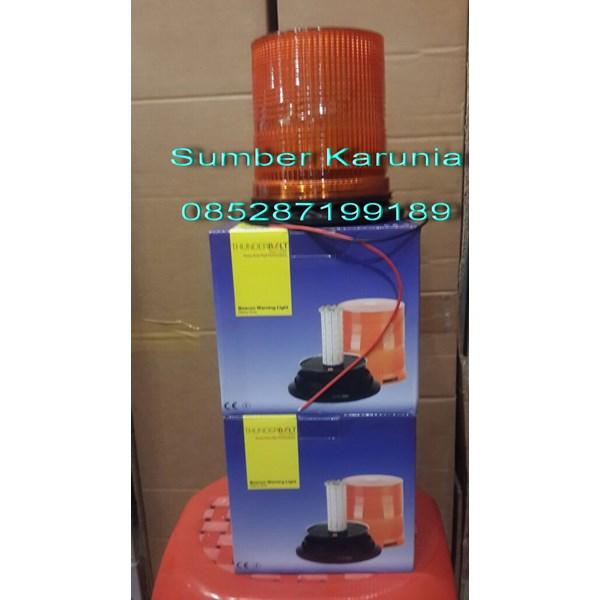 Lampu Rotary Led 6 Inch Biru 12V
