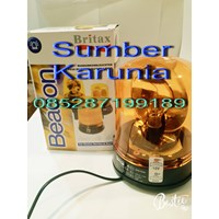 Lampu Rotary Britax 12V - 24V 6 Inch