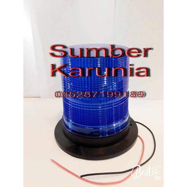Lampu Rotary WL 27 Led Biru