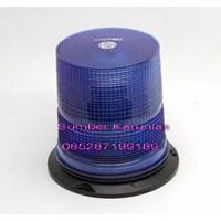 Distributor Lampu Rotator Patwal Polisi Bulat 12V - 24V Biru 3