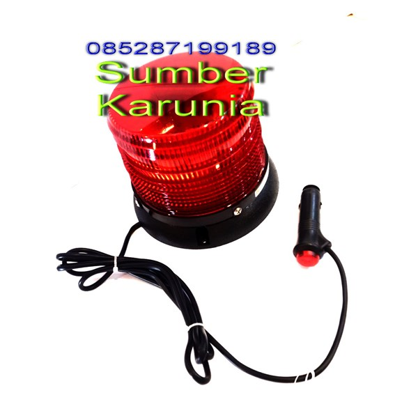 Lampu Rotator Ambulance 12V Merah