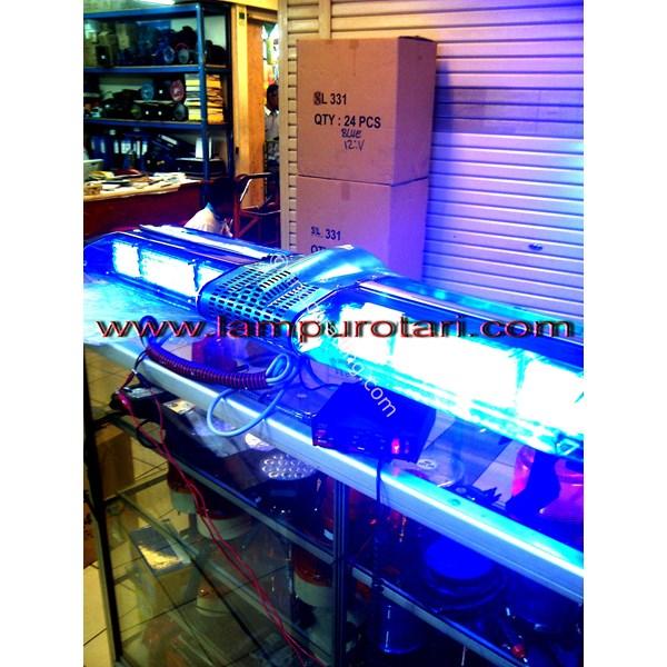 Lampu Strobo Polisi Lightbar Biru - Biru