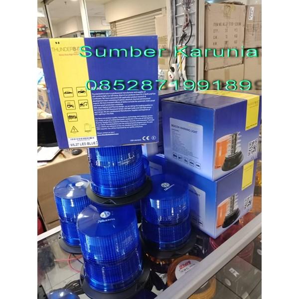 12V Blue Flash Strobe Light