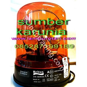 Lampu Rotari Britax 6 Inch 12V-24V Dc