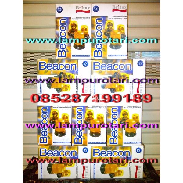 """Lampu Rotary Britax 6"""""""