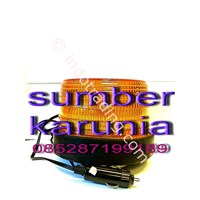 Lampu Rotari 6 Inch 12V-24V Dc Diamond Murah 5