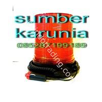 Jual Lampu Rotari 6 Inch 12V-24V Dc Diamond Kuning  2