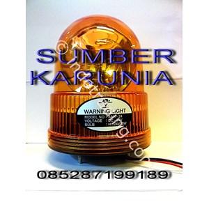 Lampu Rotari 6 Inch 12V-24V Dc Diamond Kuning