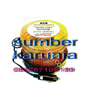 Lampu Strobo 12V-48V Dc Sifco Kuning Magnet