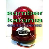 Distributor Lampu Strobo Xenon Merah Magnet 3