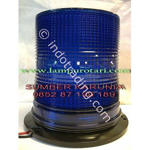 lampu blits 3 permainan biru 6 inch
