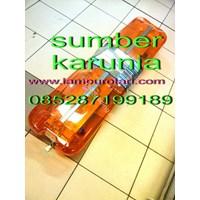 Distributor Lampu Strobo LED Rotator Ambulan Merah 3