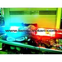 Jual Lampu Strobo LED Rotator Ambulan Merah 2