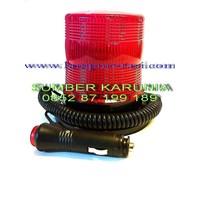 Jual lampu rotari 12v led merah  2