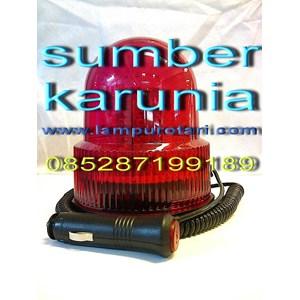 lampu rotari 12v led merah