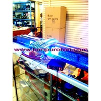 Distributor lampu rotator polisi biru 12v 3