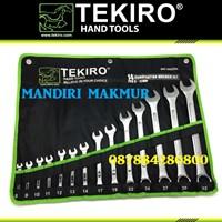 Jual Kunci Ring Pas TEKIRO 14 Pcs (8-32mm)