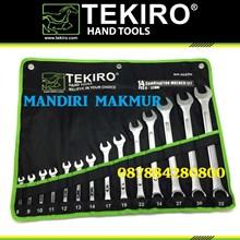TEKIRO COMBINATION WRENCH 14 Pcs (8-32mm)