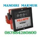 Flow meter dan Indikator Suhu FILL RITE 4 Digit FR901CL1.5 6