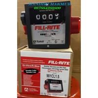 Jual Flow meter dan Indikator Suhu FILL RITE 4 Digit FR901CL1.5 2