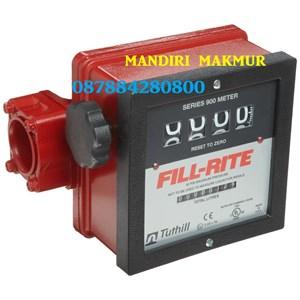 Flow meter dan Indikator Suhu FILL RITE 4 Digit FR901CL1.5