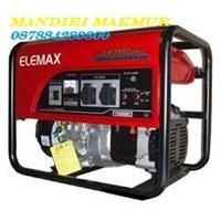 Jual GENSET SOLAR / DIESEL ELEMAX SH 3900 - EX 2