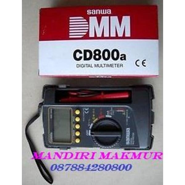 MULTIMETER DIGITAL SANWA CD 800 A