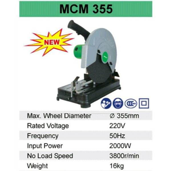 Mesin Potong Besi MORRIS MCM 355