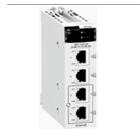 Ethernet Module M340 - 4 x RJ45 10/100 BMXNOC0401 1