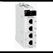Ethernet Module M340 - 4 x RJ45 10/100 BMXNOC0401