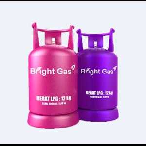Bright Gas 5.5 Kg & 12 Kg