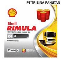 Jual Oli Diesel RIMULA R4 X 15W-40