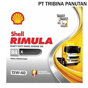 Dari Oli Diesel SHELL Rimula R4 X 15W-40 (Pail 20 Liter) 0