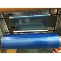 Plastik PE Biru  80 cm x 0.03 mm x Roll
