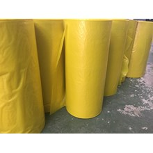Plastik Roll LDPE Kuning 90 cm x 0.05 mm